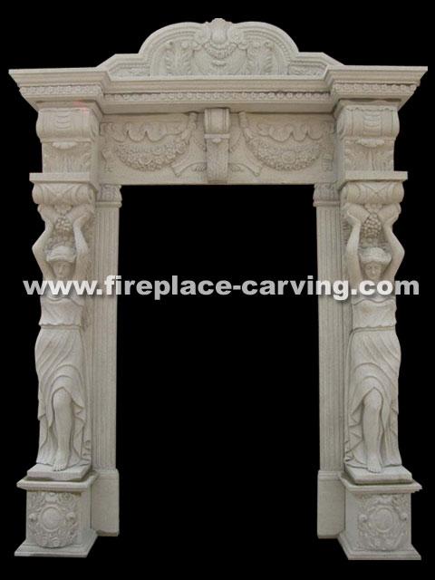 Exterior Door Surrounds Marble Door Surround