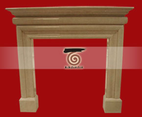 marble fireplace mantel E-FP002