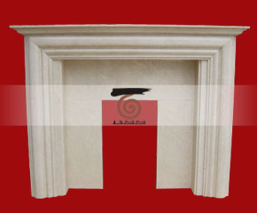 marble fireplace mantel E-FP004