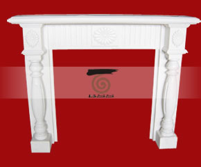 marble fireplace mantel E-FP007