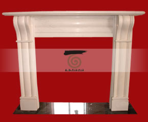 marble fireplace mantel E-FP009