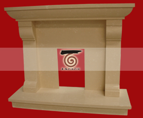 marble fireplace mantel E-FP003