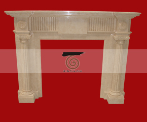 marble fireplace mantel E-FP011