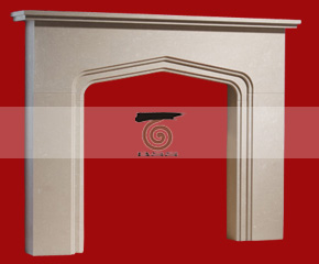 marble fireplace mantel E-FP015
