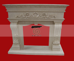 marble fireplace mantel E-FP017