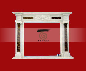 marble fireplace O-FP031 (WFP031)