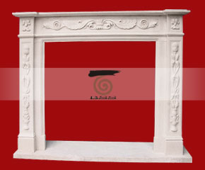 marble fireplace O-FP032 (WFP034)