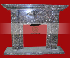 marble fireplace O-FP033 (WFP035)
