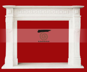 marble fireplace O-FP036 (WFP039)