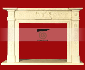 marble fireplace O-FP038 (WFP042)