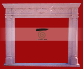 marble fireplace O-FP039 (WFP044)