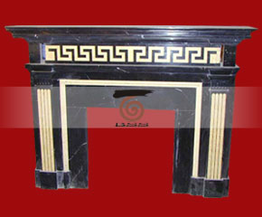 marble fireplace O-FP041 (WFP049)
