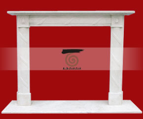 marble fireplace O-FP044 (WFP056)