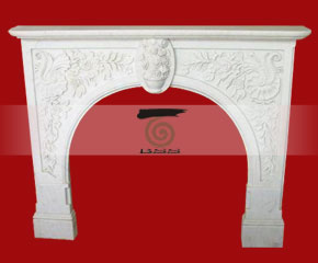 marble fireplace O-FP048 (WFP076)