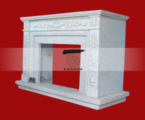 marble fireplace O-FP051 (WFP080)