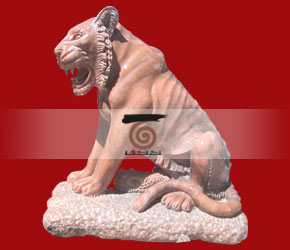 Stone Tiger Statue Chinese Tiger Sculpture Marble Tigers